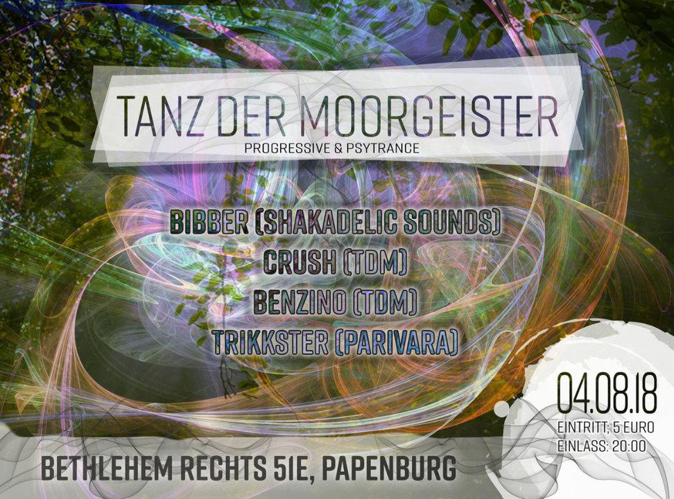Tanz der Moorgeister 4 Aug '18, 20:00