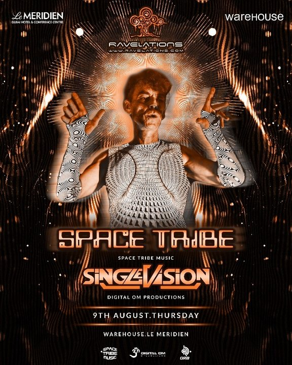 RAVELATIONS feat. Space Tribe (Space Tribe Music, UK) 9 Aug '18, 22:00