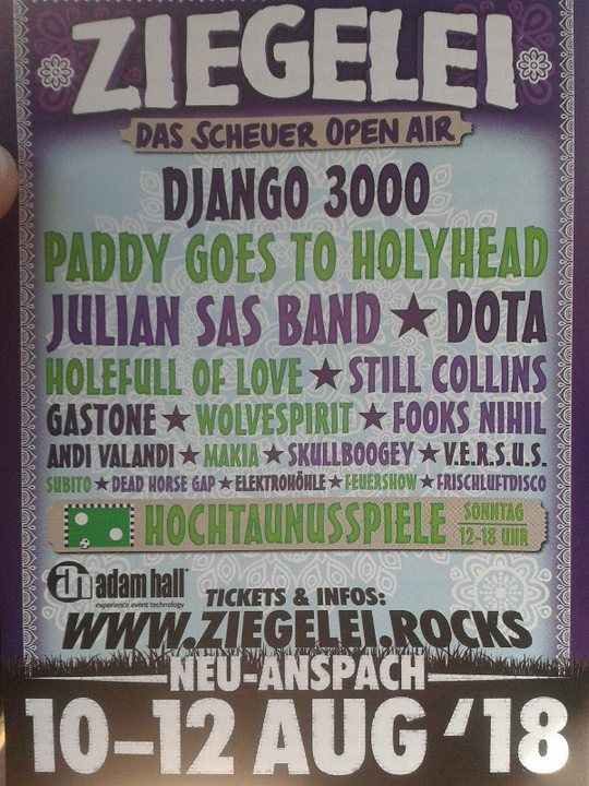 Elektrohöhle + Ziegelei Open Air 2018 10 Aug '18, 17:00