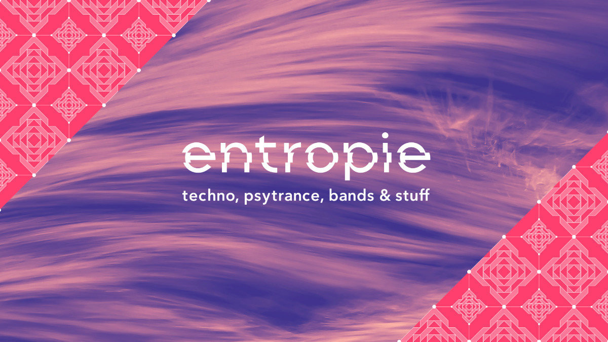 Party Flyer · Entropie Festival 2018 · 10 Aug 2018 · Berlin