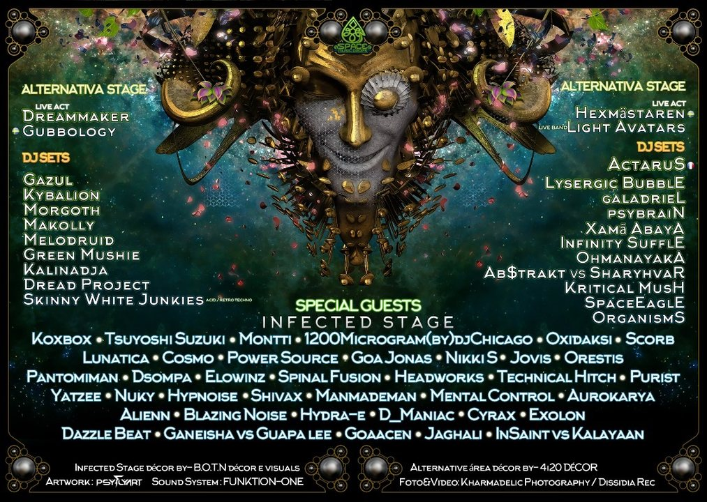 Infected Festival 10,11,12 Agosto – ✾ by SpaceMusicDrops 10 Aug '18, 20:00