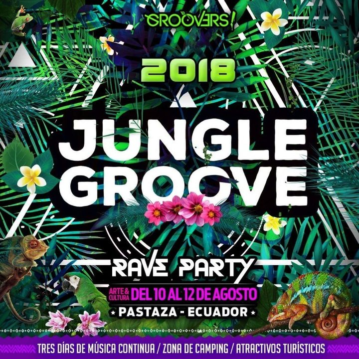 Jungle Groove 6th edition 10 Aug '18, 12:00