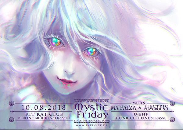 Mystic Friday meets Ma Faiza & Electric Playground 10 Aug '18, 23:00