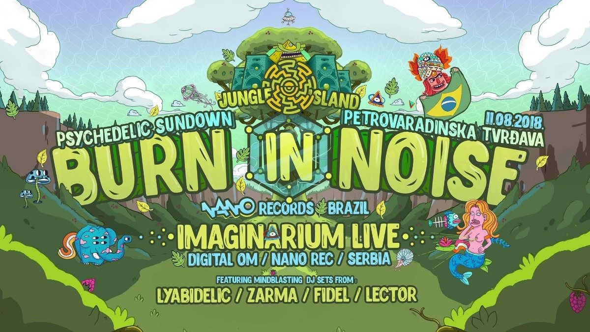 Burn in Noise Live! 11 Aug '18, 20:00
