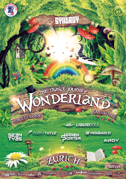 SYNERGY 'Wonderland' Love Mobile w/ Liquid Soul 11 Aug '18, 13:00