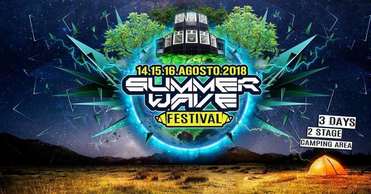 Summer Wave Festival 2018 14 Aug '18, 10:00