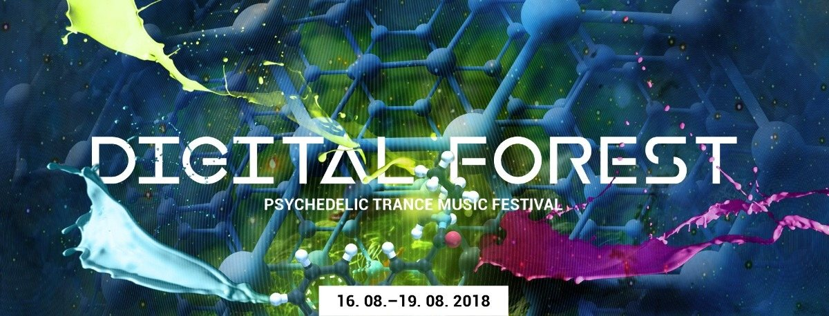 Digital Forest - Psychedelic Trance Music Festival 2018 16 Aug '18, 22:00