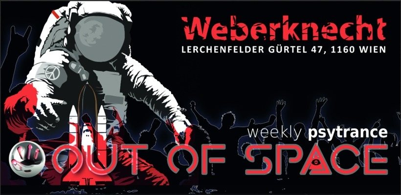 OUT of SPACE Psytrance Club 16 Aug '18, 22:00