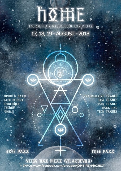 H.O.M.E 4.0 ( Open Air Psychedelic Experience) 17 Aug '18, 19:00