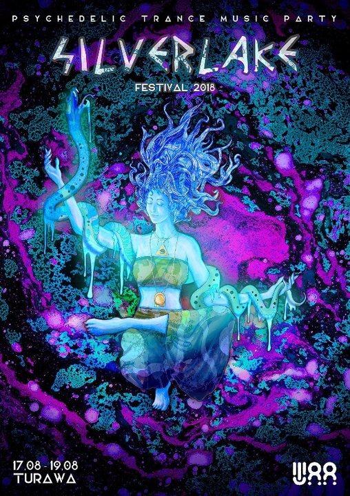 Party flyer: Silver Lake Festival 2018 17 Aug '18, 19:30