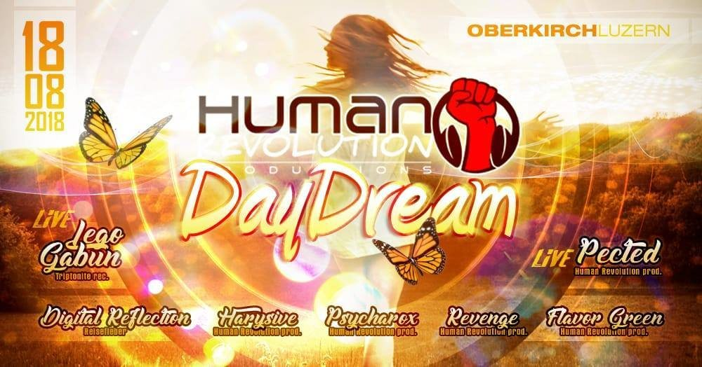 Human Revolution Daydream Vol.4 18 Aug '18, 11:00