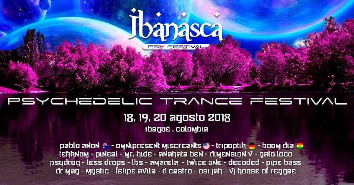 IBANASCA PSY FESTIVAL 18 Aug '18, 14:00