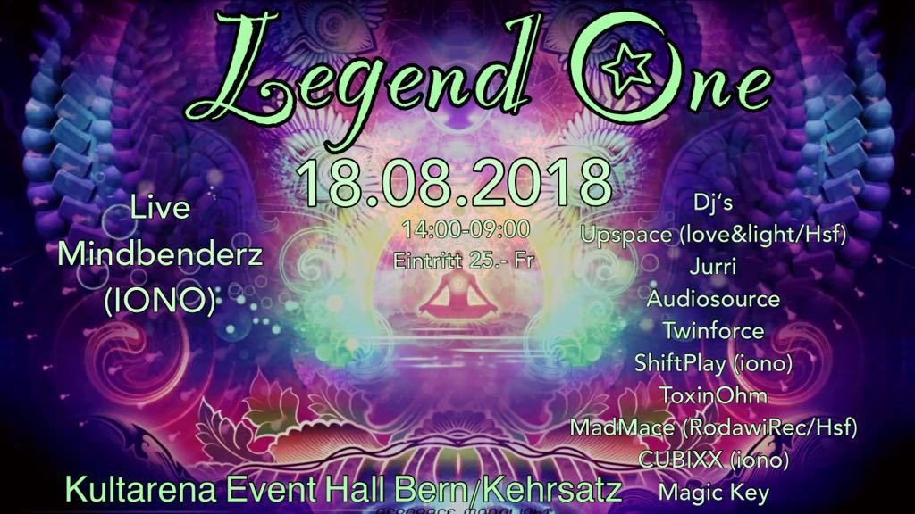 Legend One 18 Aug '18, 14:00