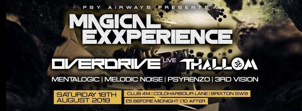 Magical Exxperience 18 Aug '18, 23:00