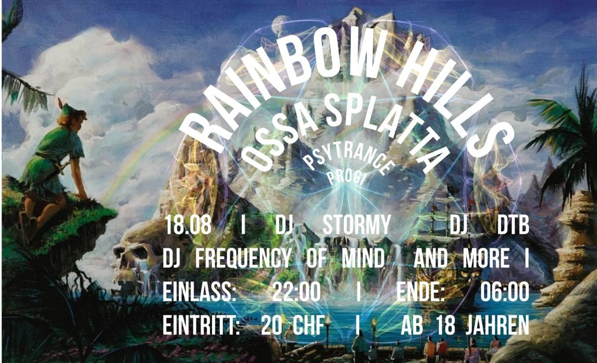 Rainbow Hills / ossa splatta 18 Aug '18, 22:00