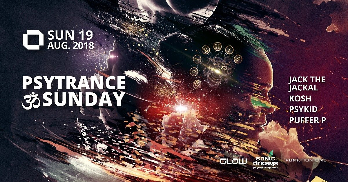PsyTrance ॐ Sunday at GLOW 19 Aug '18, 21:30