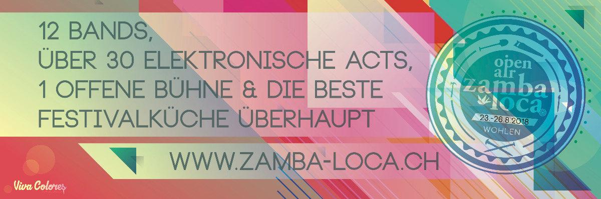 Open Air Zamba Loca 23 Aug '18, 17:00