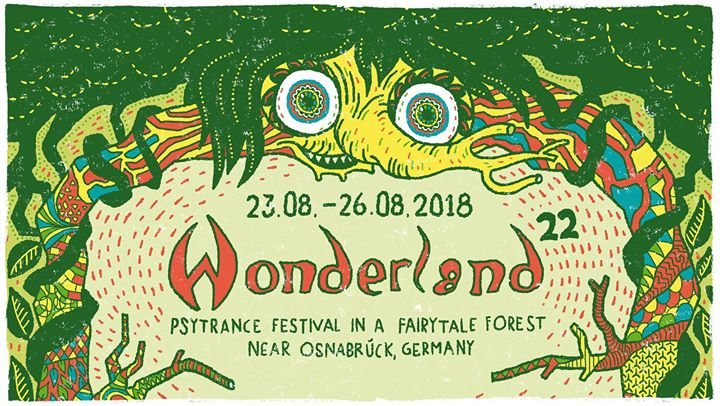 Waldfrieden Wonderland Festival 2018 23 Aug '18, 14:00