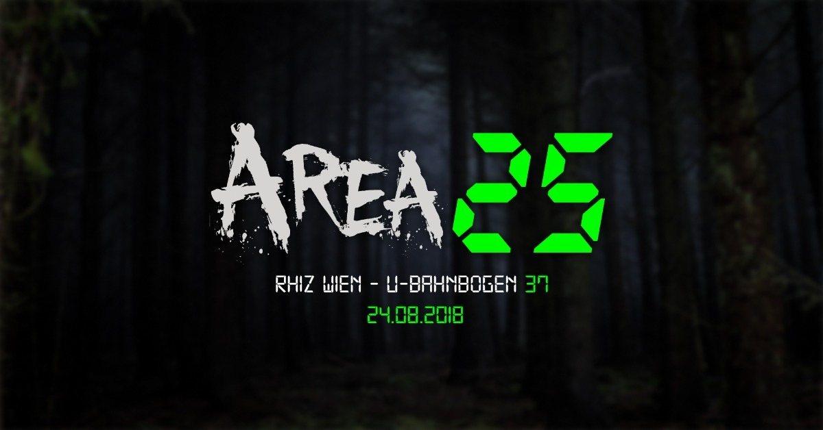 Area 25 - P³ 24 Aug '18, 22:00
