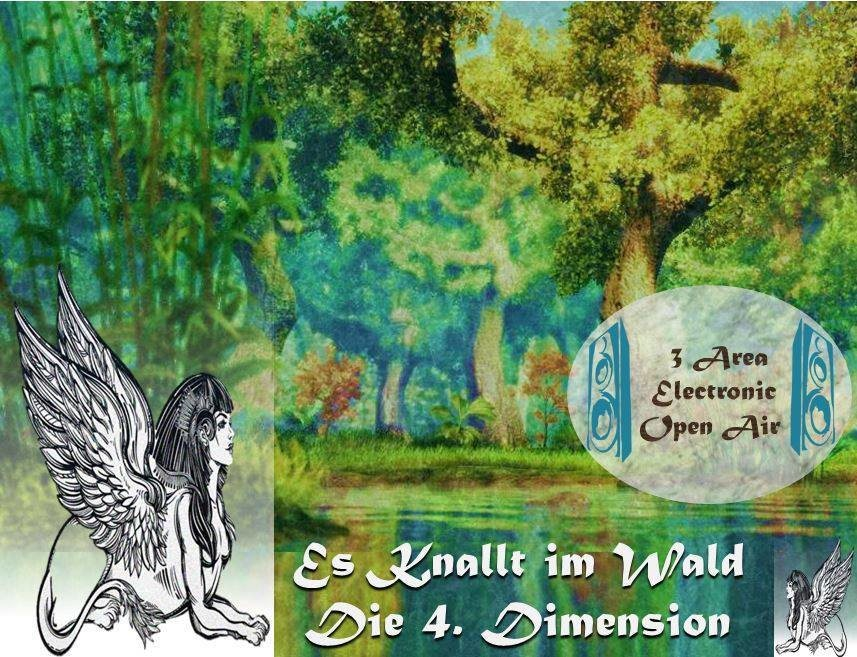 Es knallt im Wald - Die 4. Dimension 25 Aug '18, 14:00