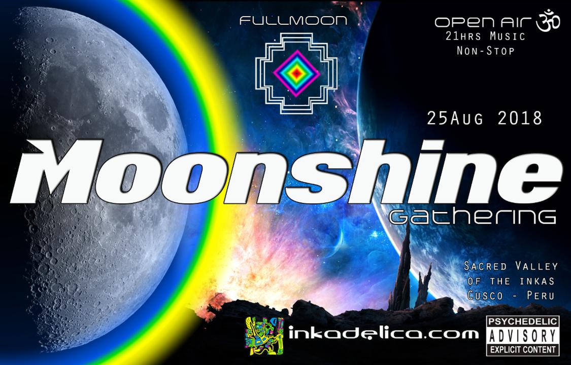 Moonshine Gathering 25 Aug '18, 15:00