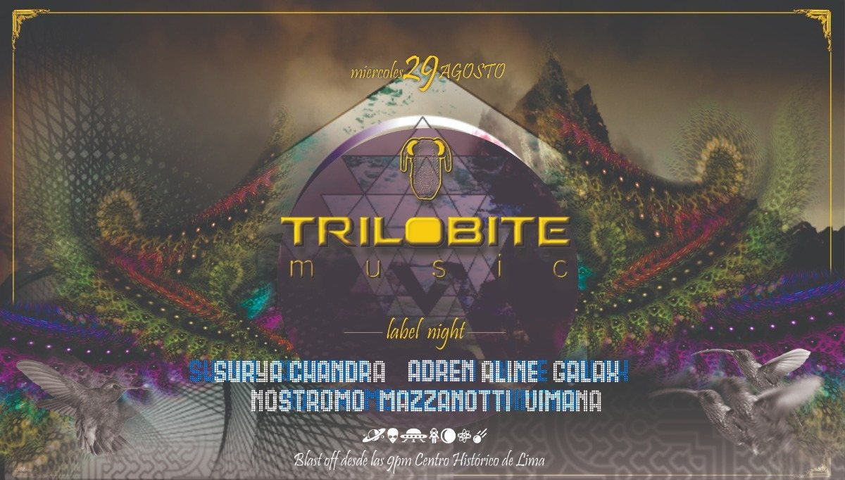 TRILOBITE MUSIC - label night 29 Aug '18, 22:00