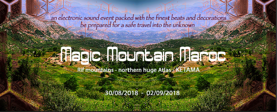 Magic Mountain Maroc 30 Aug '18, 12:00