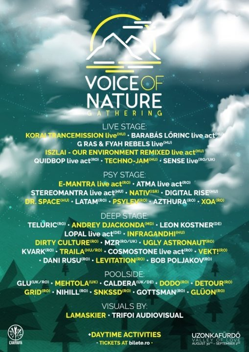 Voice of Nature 2018 30 Aug '18, 22:00