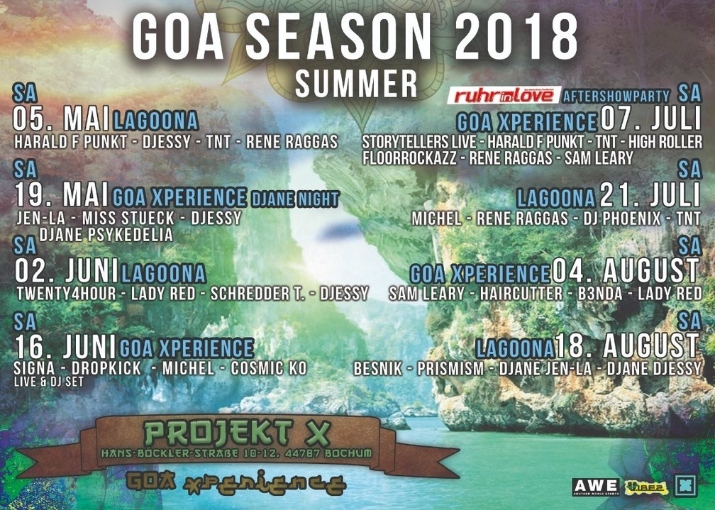 Goa Xperience - The Tribe 1 Sep '18, 23:00