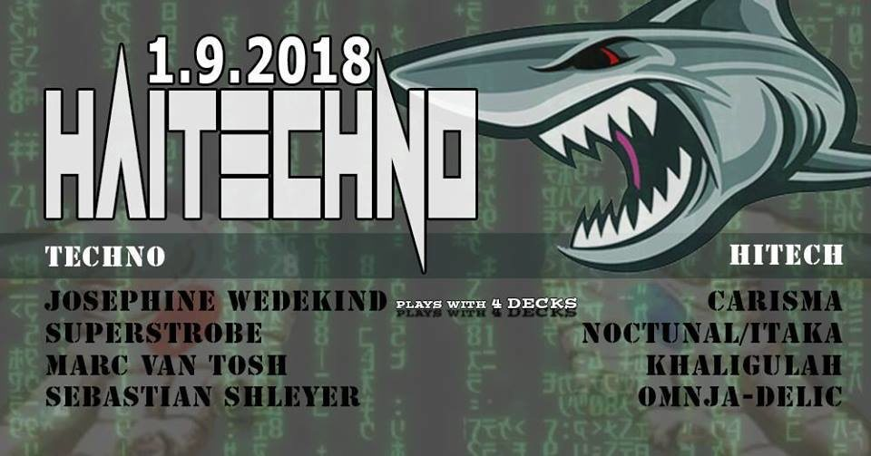 Hitech!! & Techno im Velvet Monkeys 1 Sep '18, 23:00