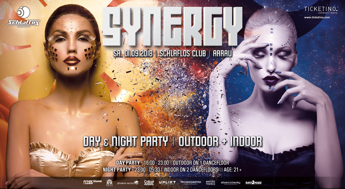 SYNERGY 'Day & Night Party' 1 Sep '18, 16:00