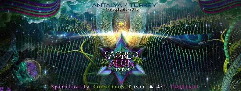 Sacred Aeon Festival 2018 4 Sep '18, 22:00