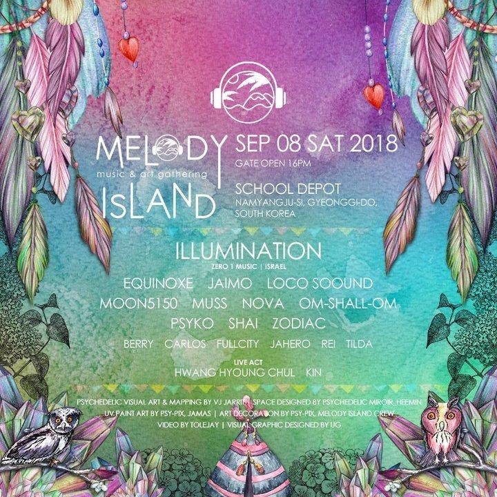 Melody Island Music & Art Gathering - Autumn 8 Sep '18, 15:00
