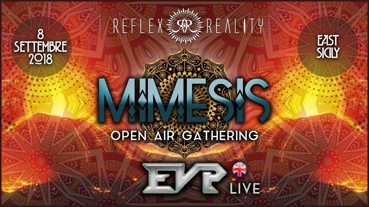 MIMESIS   Psy-Trance Open Air Gathering w/ EVP 8 Sep '18, 22:00