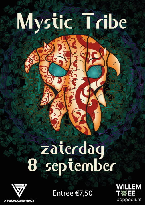 Mystic Tribe | Willem Twee Poppodium 8 Sep '18, 22:00