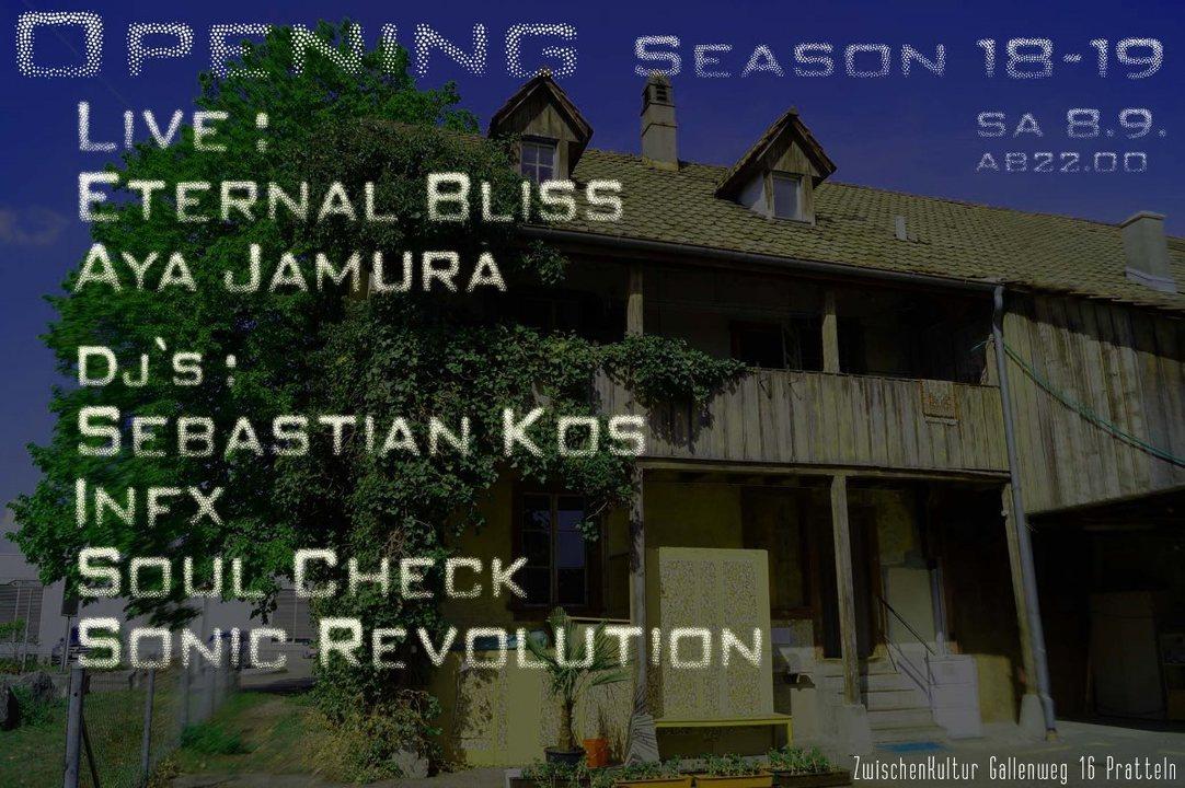 Opening Season 18-19 8 Sep '18, 22:00