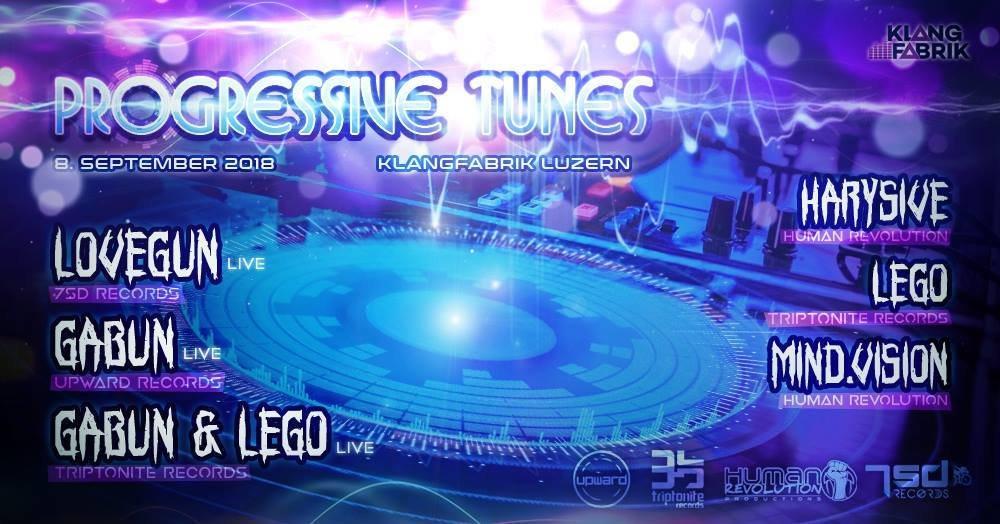 Progressive Tunes 8 Sep '18, 23:00