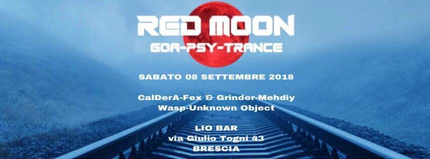 Red Moon @ Lio Bar 8 Sep '18, 22:30