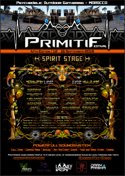 Primitif Festival 2018 12 Sep '18, 14:00