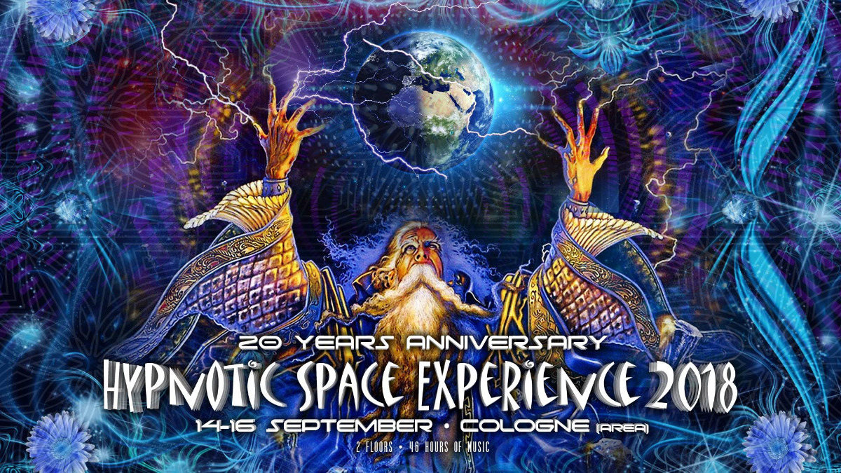 HYPNOTIC SPACE EXPERIENCE 2018 14 Sep '18, 22:00