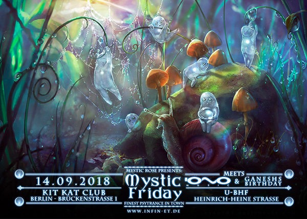 Mystic Friday meets IONO Music & Ganesh's Birthday... 14 Sep '18, 23:00