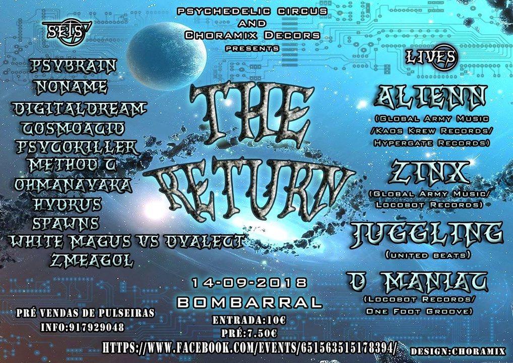 The Return 14 Sep '18, 22:00