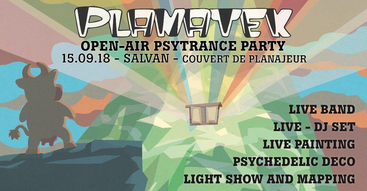 Planatek 5 - Open-air 15 Sep '18, 18:00