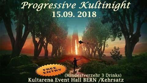 Progressive KultiNight (freier Eintritt) BERN 15 Sep '18, 22:00