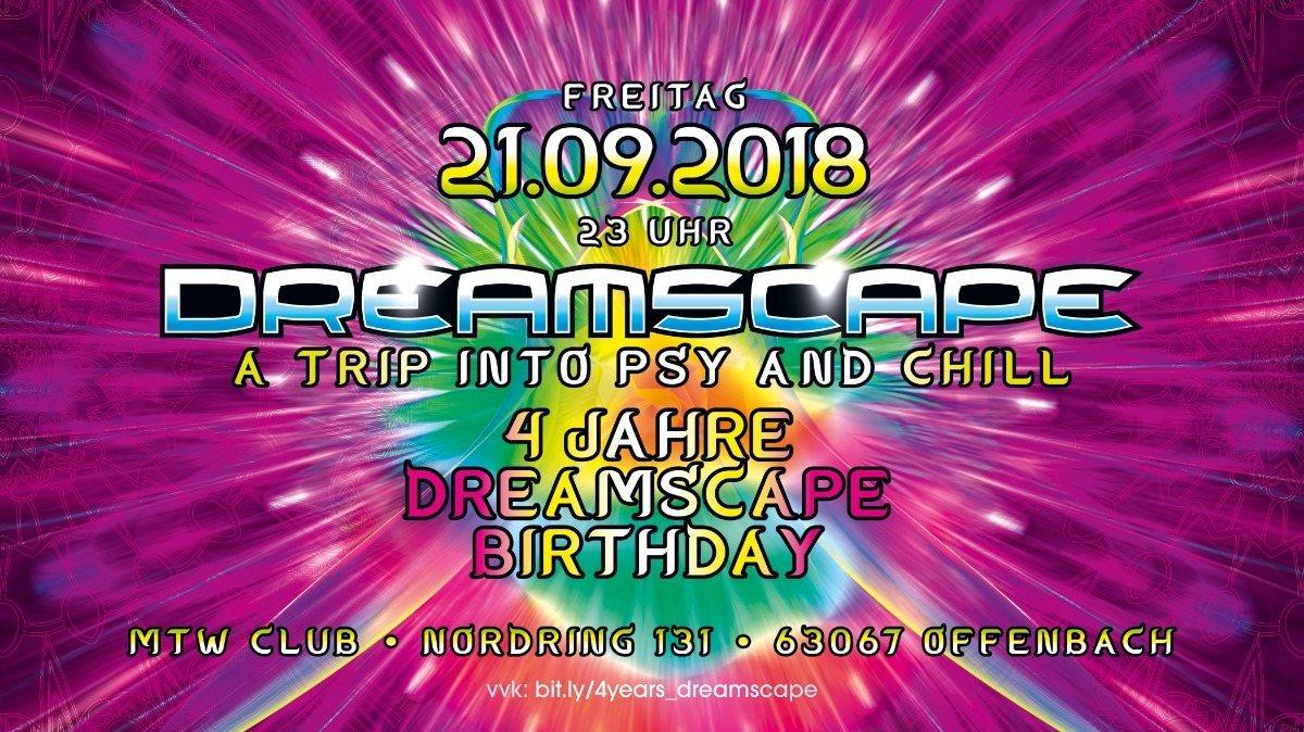 4 Jahre Dreamscape mit Blastoyz. Dsompa and more 21 Sep '18, 23:00