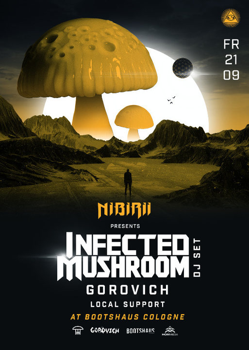 Infected Mushroom (HOMmega) pres. by Nibirii 21 Sep '18, 23:00