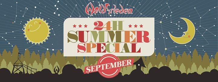 24H Summer Special September 22 Sep '18, 16:00