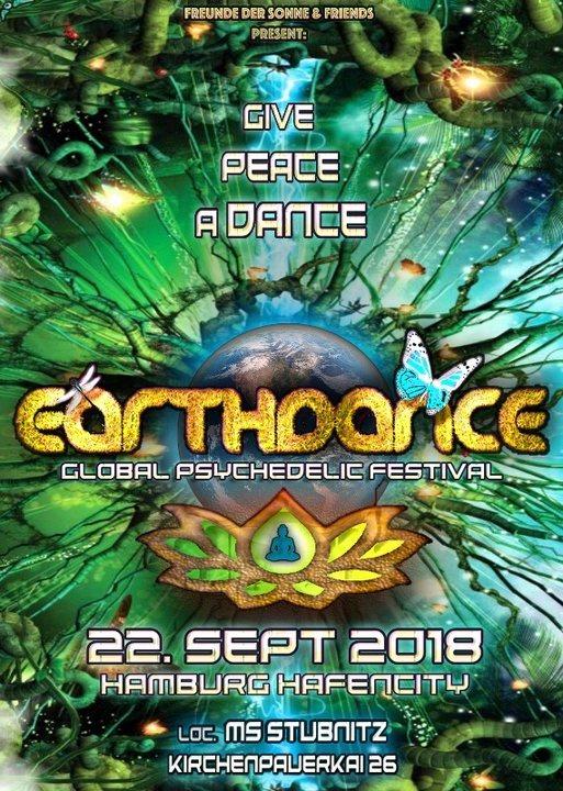 Earthdance Hamburg 22 Sep '18, 22:00