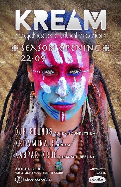KREAM Season Opening 22 Sep '18, 23:30