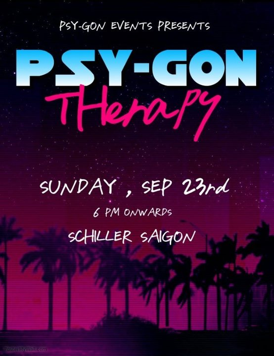 Psy-Gon Therapy 23 Sep '18, 18:00